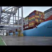 Munkebo Maersk's first call at London Gateway