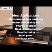 Revolutionary Dimensioning System - CubiScan 25